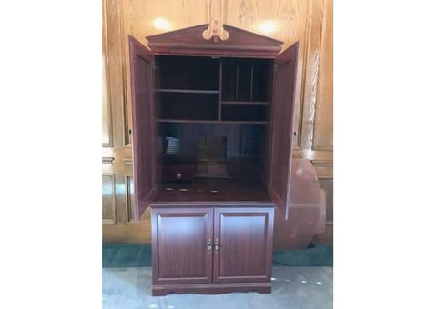 Convertible Desk or Cabinet