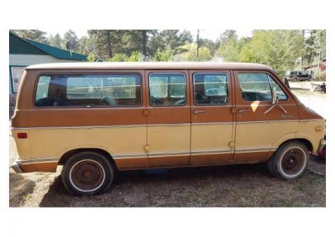 1978 Dodge 3/4 Ton Van for Sale