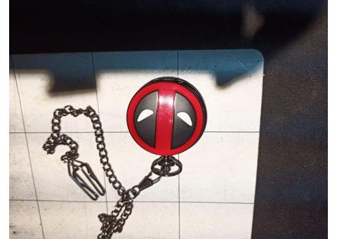 new deadpool pocket watch by marvel!