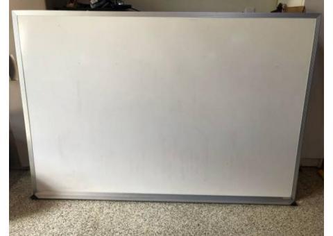 """Dry Erase White Board 78""""x 45"""" - $39 (Mequon)"""