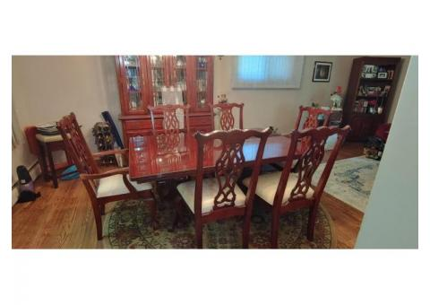 Dining Table/Chairs/China Cabinet Set or Buy Separate
